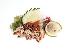 Unagi sashimi Fotografering för Bildbyråer