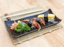Unagi Sushi Stockfotos