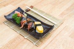 Unagi Sushi Stockbild
