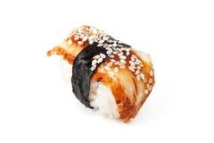 Unagi sushi Royaltyfri Fotografi