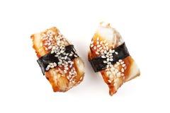 Unagi sushi Fotografering för Bildbyråer