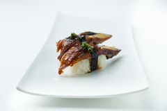 Unagi Sushi Nigiri Stock Photography