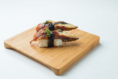Unagi Sushi Nigiri Royalty Free Stock Photography