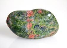 Unakit mineral arkivfoton