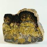Unakite - gema natural Imagens de Stock Royalty Free