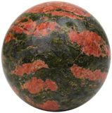 Unakite Sphere Royalty Free Stock Image