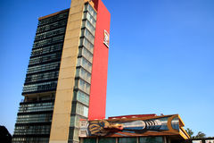 UNAM in Mexico Royalty Free Stock Images