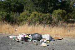 Unansehnlicher Abfall Lizenzfreies Stockbild
