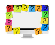 Unanswered questions Royalty Free Stock Photo