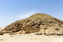 Unas,埃及金字塔  免版税库存图片