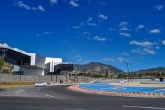 Unasur大厦在基多,厄瓜多尔 免版税库存图片