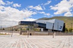 Unasur大厦在基多,厄瓜多尔 免版税库存照片