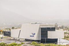 Unasur budynku środka ziemia Quito Ekwador Zdjęcia Stock