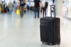 Unattended luggage. Stock Photo