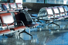 Unattended luggage Stock Images
