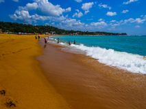 Unawatuna beach Stock Photo