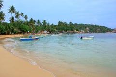 Unawatuna beach, Sri Lanka Stock Image