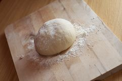 Unbaked Dough Royalty Free Stock Image