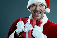Unbalanced Santa Stock Images
