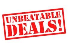 UNBEATABLE DEALS! Stock Images
