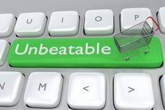 Unbeatable merchant concept Royalty Free Stock Photo