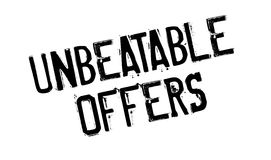 Unbeatable Offers rubber stamp Royalty Free Stock Image