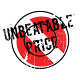 Unbeatable Price rubber stamp Royalty Free Stock Images