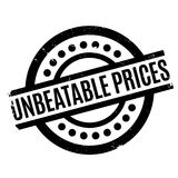 Unbeatable Prices rubber stamp Royalty Free Stock Images