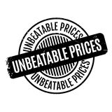 Unbeatable Prices rubber stamp Stock Photography
