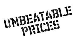 Unbeatable Prices rubber stamp Royalty Free Stock Image
