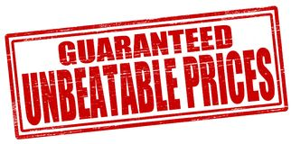 Unbeatable prices Royalty Free Stock Image