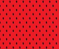 Unbedeutender roter Wassermelonenmusterhintergrund Lizenzfreie Stockfotografie