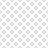 Unbedeutendes nahtloses Muster des Vektors, Formvektor lizenzfreie abbildung