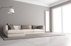 Unbedeutendes Wohnzimmer vektor abbildung