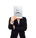Unbefriedigter Unternehmensleiter stockbilder