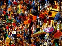 Unbegrenzte Farben, buntes Indien, Stockbild