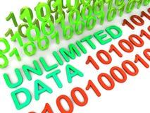 Unbegrenzter Datenstrom Stockfotos