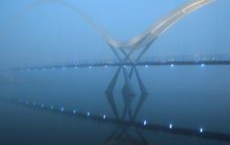 Unbegrenztheits-Brücke Stockfoto