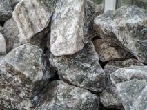 Unbehandeltes Steinsalz im Truthahn-cankiri lizenzfreies stockfoto