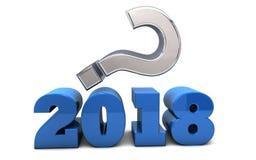 2018 Unbekannt-Zukunft Lizenzfreies Stockbild