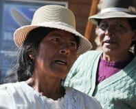 Unbekannte Frau auf der Insel des Mondes Lizenzfreies Stockbild