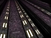 Unbekannte futuristische Umgebung der ausländischen Fantasie Lizenzfreies Stockbild
