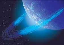Unbekannter Planet Stockfotografie