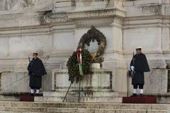 Unbekannter Soldat Guard, Rom Stockfotos