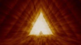 Unbekannter Tempel des Schicksals in der Pyramide stock footage