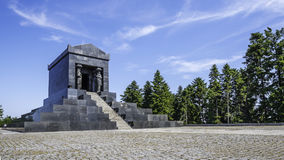 Unbekanntes Held-Monument lizenzfreies stockfoto