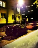Unbekanntes Schicksal Kriminelle Nacht Stockfoto