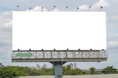 Unbelegte Anschlagtafelschablone Lizenzfreie Stockfotografie