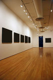 Unbelegte Ausstellung Lizenzfreies Stockfoto