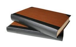 Unbelegte Bücher mit Pfad stockbild